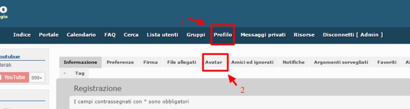 Come si cambia avatar su Wiki Info? Nini10