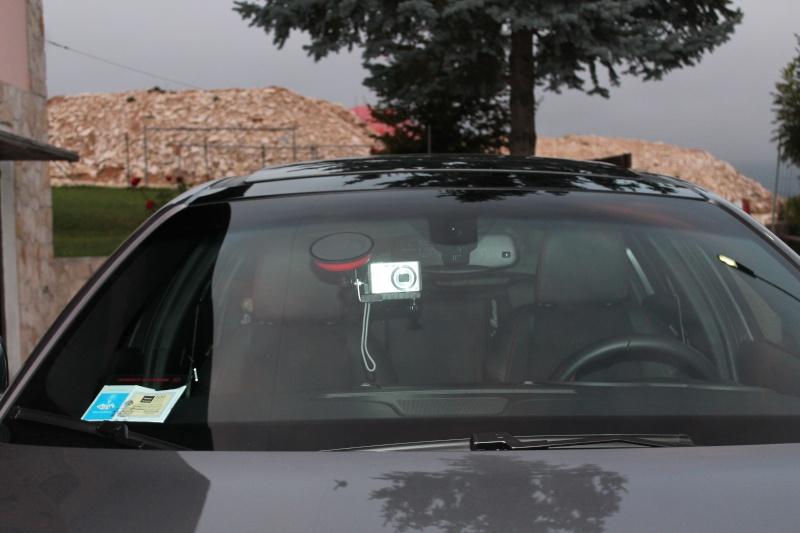 SUPPORTO videocamera home self made per camera car 03010