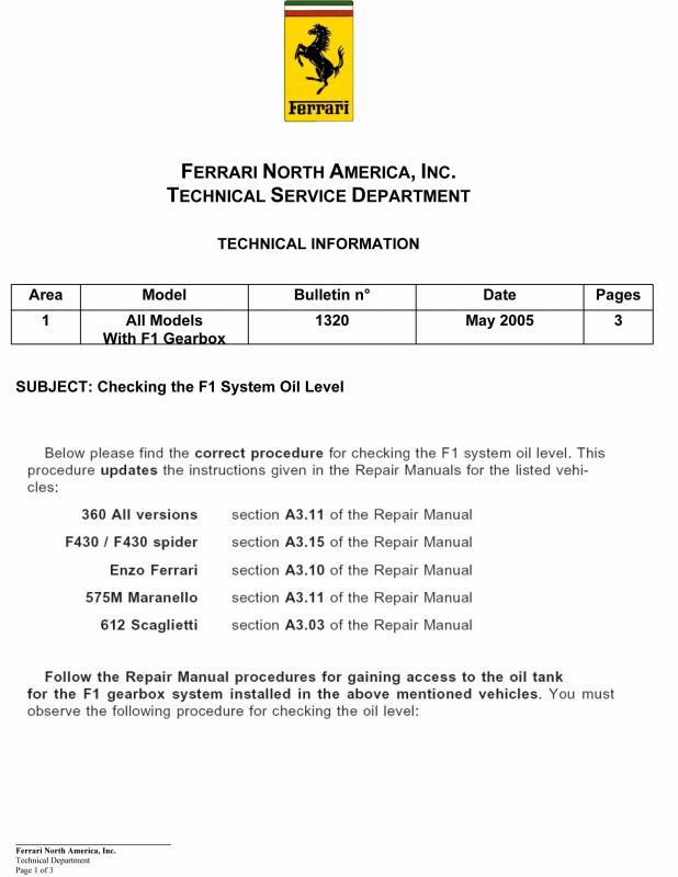 Niveau du liquide du systeme cambiocorsa sur 4200 Niveau12