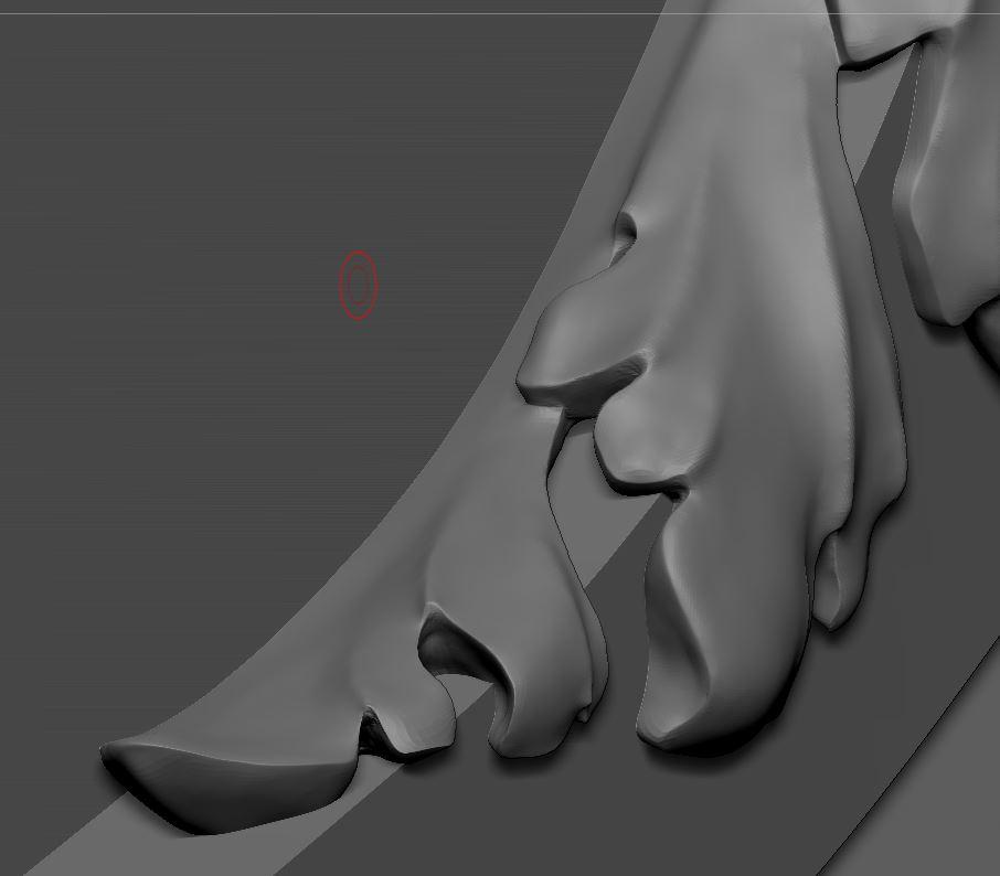 Brouillons: quand la sculpture virtuelle remplace l'argile Captur23