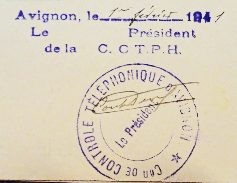 Cachet administratif du contrôle téléphonique d'Avignon érroné ?  2016_011