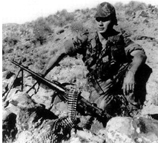 Hommage notre camarade Eugène Mahaut - Commando marine mort au combat à El Abiodh, djebel Asfer le 21 décembre 1961 Algérie Comman10