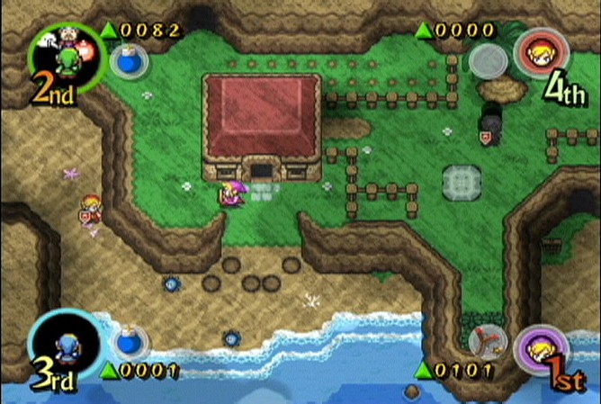 Legend - The Legend of Zelda: Four Swords Adventures [GC][Nintendont] Zelda-10