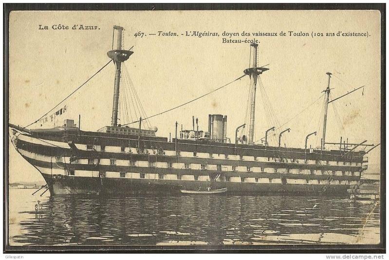 Les navires écoles français du XIX é à nos jours en photos  - Page 2 1889_110