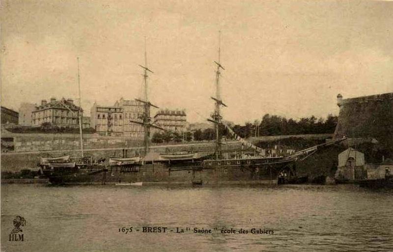 Les navires écoles français du XIX é à nos jours en photos  - Page 2 1895_110