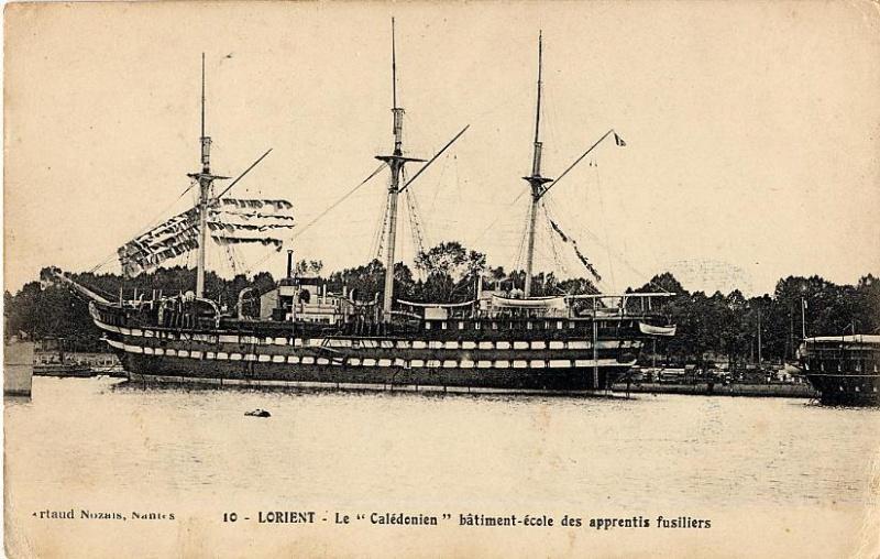 Les navires écoles français du XIX é à nos jours en photos  - Page 2 1913-110