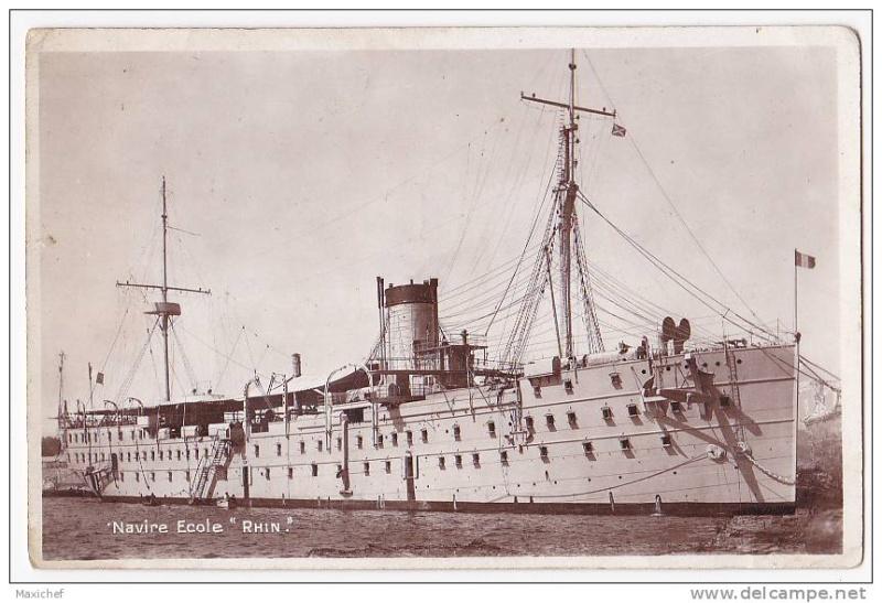 Les navires écoles français du XIX é à nos jours en photos  - Page 2 1924_110