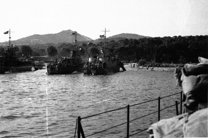Débarquement en Provence et libération de Toulon Dybarq10