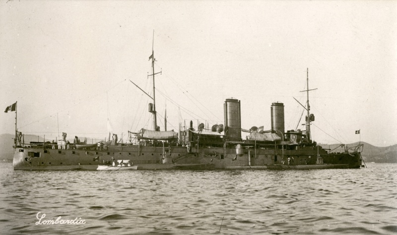 Croiseurs italiens Lombar11
