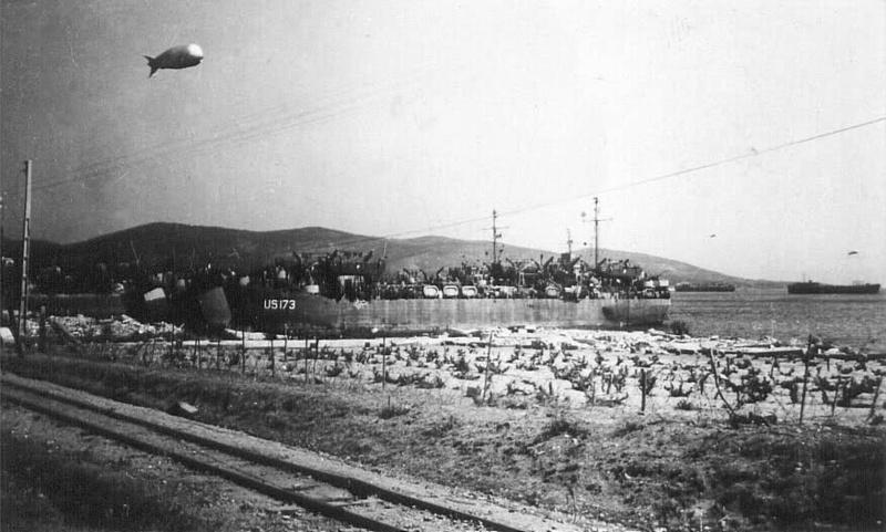 Débarquement en Provence et libération de Toulon Lst17310