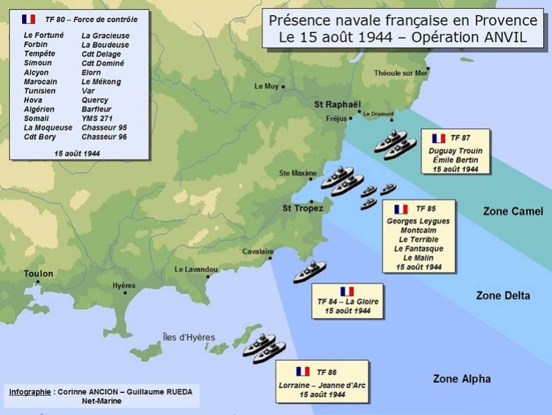 Débarquement en Provence et libération de Toulon Photo010