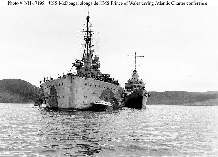 14 AOÛT 1941 signature de la charte de l'Atlantique  Prince11