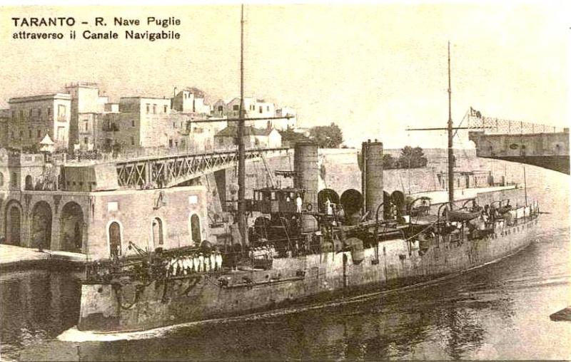 Croiseurs italiens Puglia10