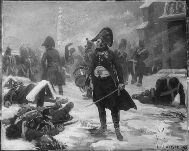 (TERMINE) Le Capitaine Hugo à Eylau par BONO Lapeyr11