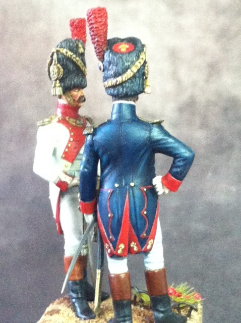 FINI Officier de grenadiers à pied de la garde 1809 par BONO Photo_10