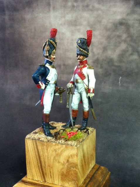 FINI Officier de grenadiers à pied de la garde 1809 par BONO Photo_11