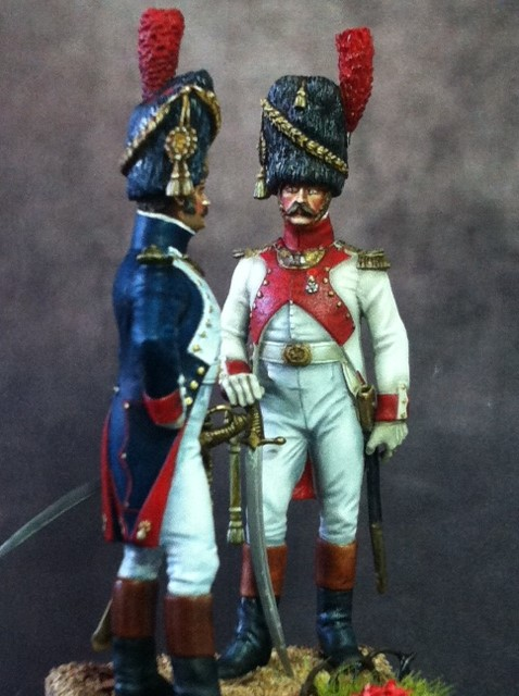 FINI Officier de grenadiers à pied de la garde 1809 par BONO Photo_12