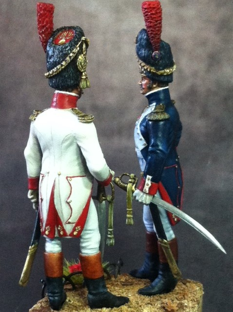 FINI Officier de grenadiers à pied de la garde 1809 par BONO Photo_13
