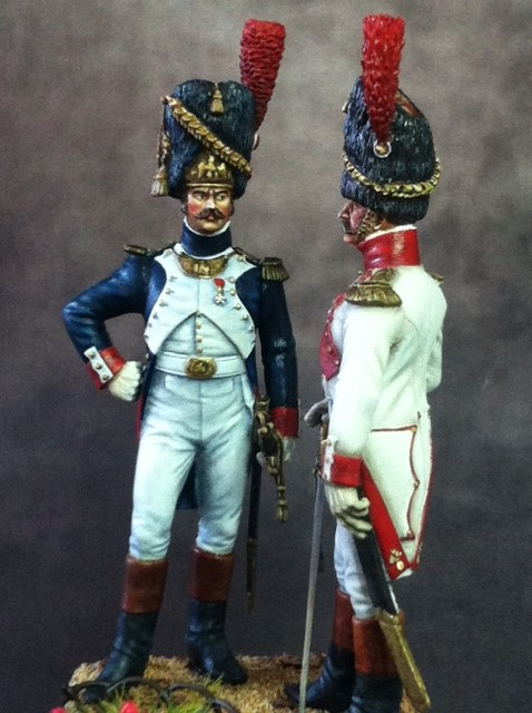 FINI Officier de grenadiers à pied de la garde 1809 par BONO Photo_14