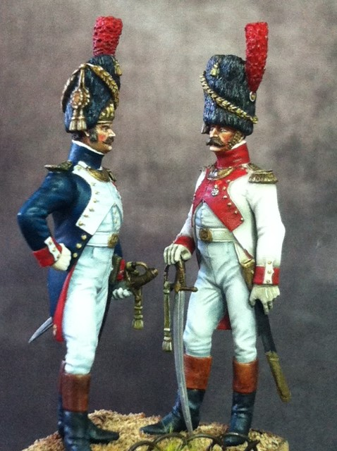 FINI Officier de grenadiers à pied de la garde 1809 par BONO Photo_15
