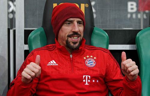 #7 - Franck Ribéry Ribery10