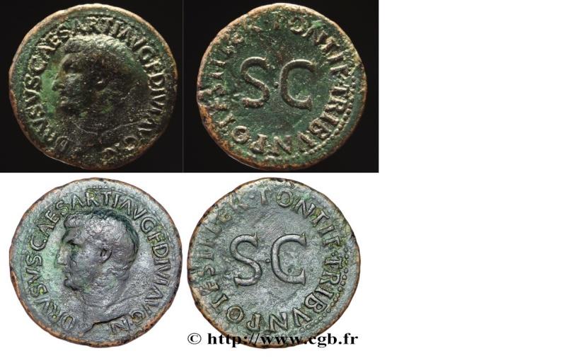 Monnaies de Septime17300 - Page 3 Drusus10