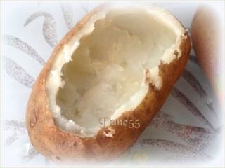 Pommes de terre cuites deux fois avec des oeufs sur le dessus Flzjvg10