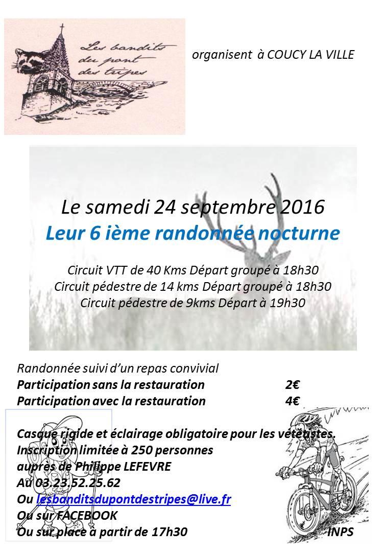 Randonnée nocturne à Coucy la Ville le 24 Septembre 2016 Affich11