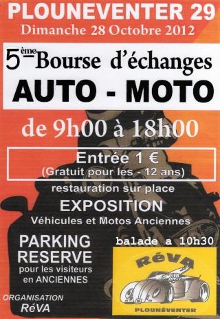 5ème bourse d'échange a plounéventer le 28 octobre 2012 Affich11