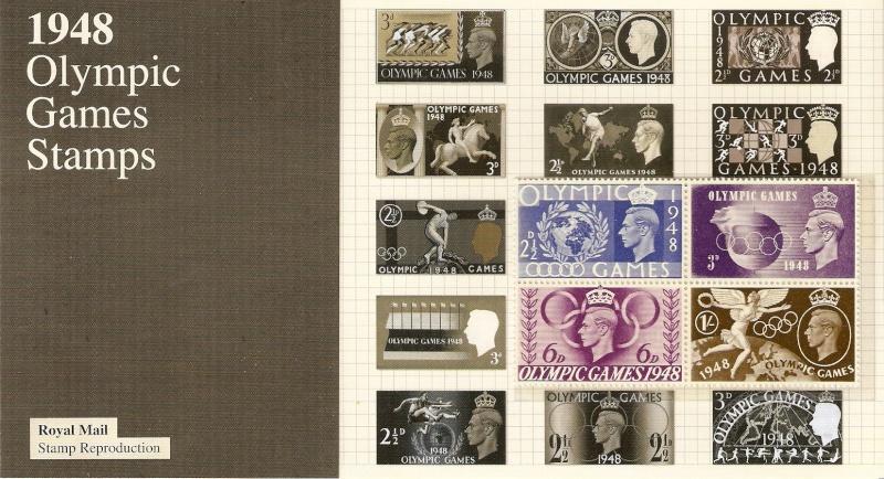 JEUX OLYMPIQUES DE LONDRES 1948 Numari10