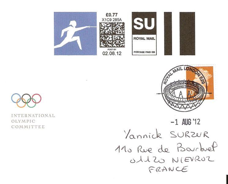 Londres 2012 - Blog Olympique... - Page 4 Numari12