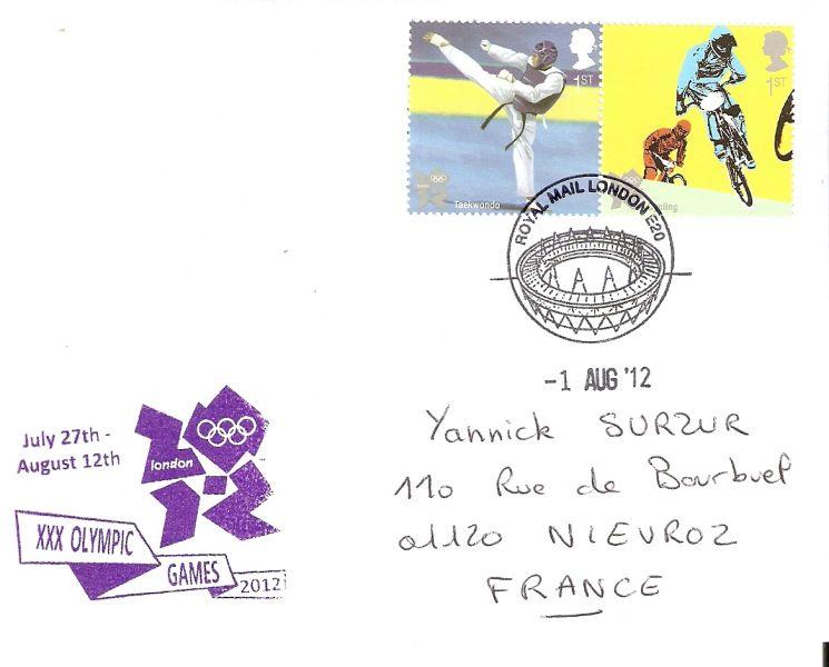 Londres 2012 - Blog Olympique... - Page 4 Numari13