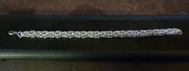 bracelet maille byzantine P1040014
