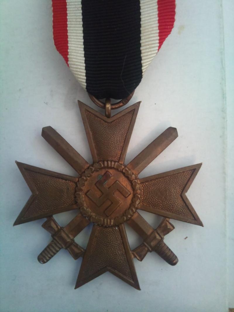 Vos décorations militaires, politiques, civiles allemandes de la ww2 Kriegs10