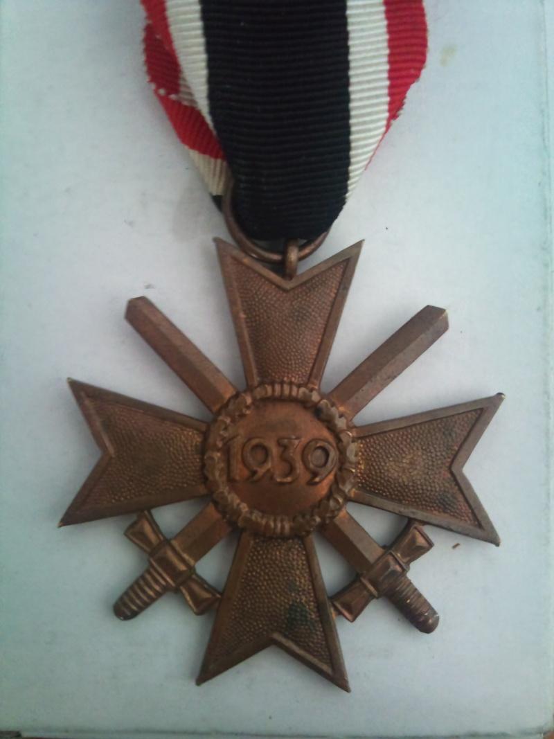 Vos décorations militaires, politiques, civiles allemandes de la ww2 Kriegs11