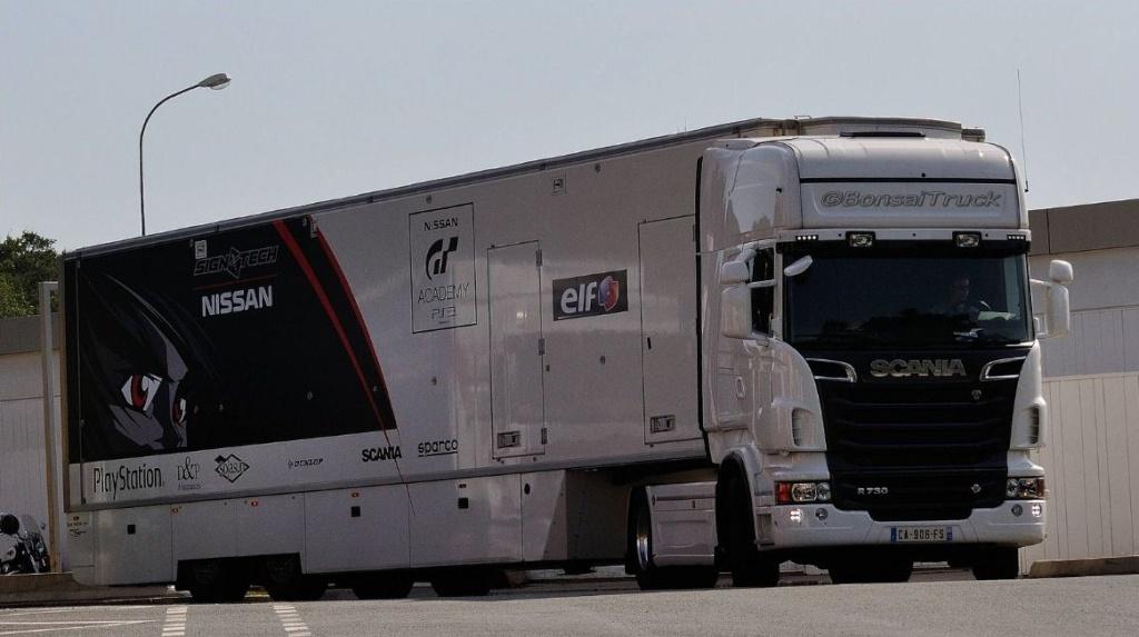 Les Teams de courses F1 et autres Scania40