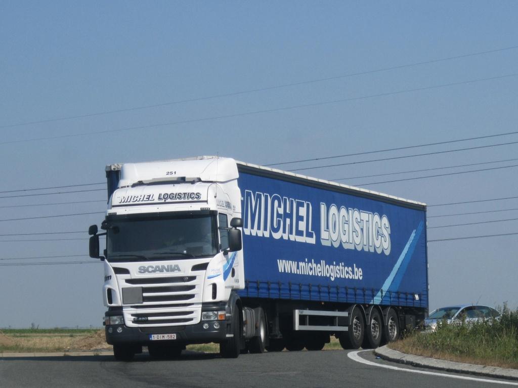 Michel Logistics  (Houdeng-Goegnies) Scania41