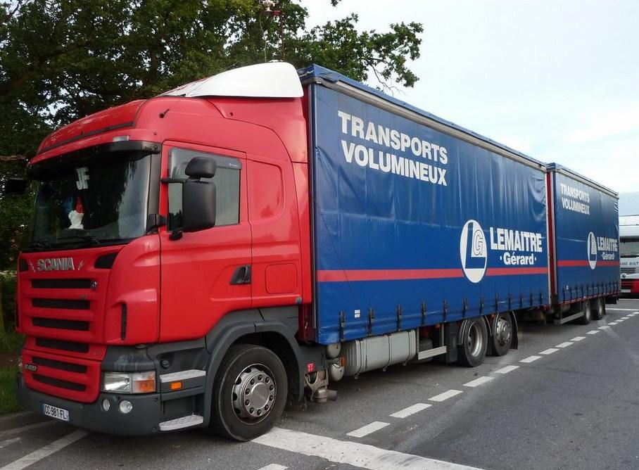 Lemaitre Gérard (Neuille Pont Pierre, 37)(groupe Sabenis) Scania81