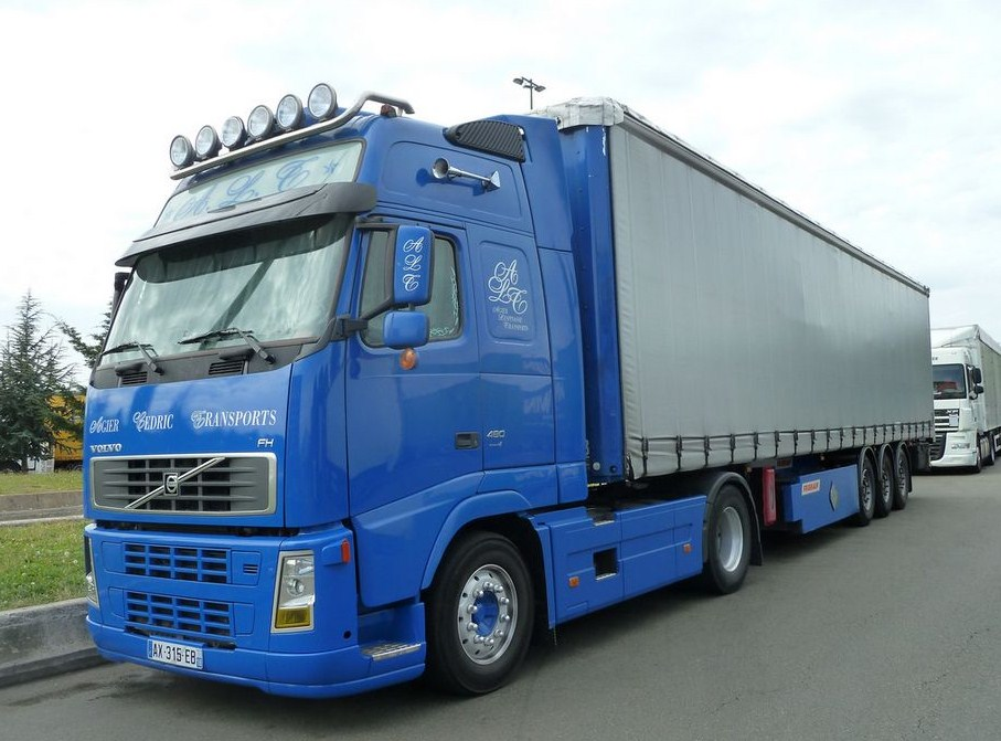 Agier Lespinasse Transports (Bourges, 18) Volvo_98