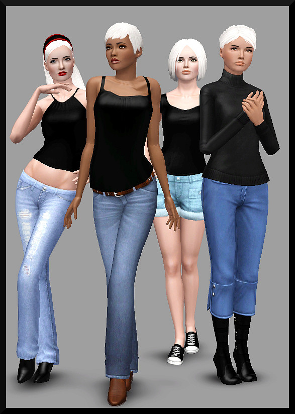 Sim 3 - Base Sims - Pack One Group110