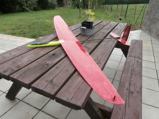 un planeur F3k pas cher, le Slingshot de chez Causemann P7300010