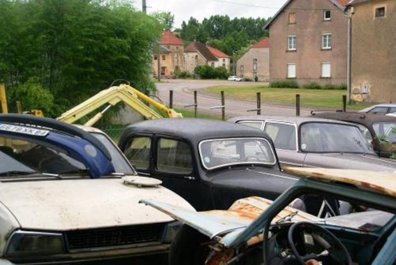Mes vacances en Haute Marne. Garage14
