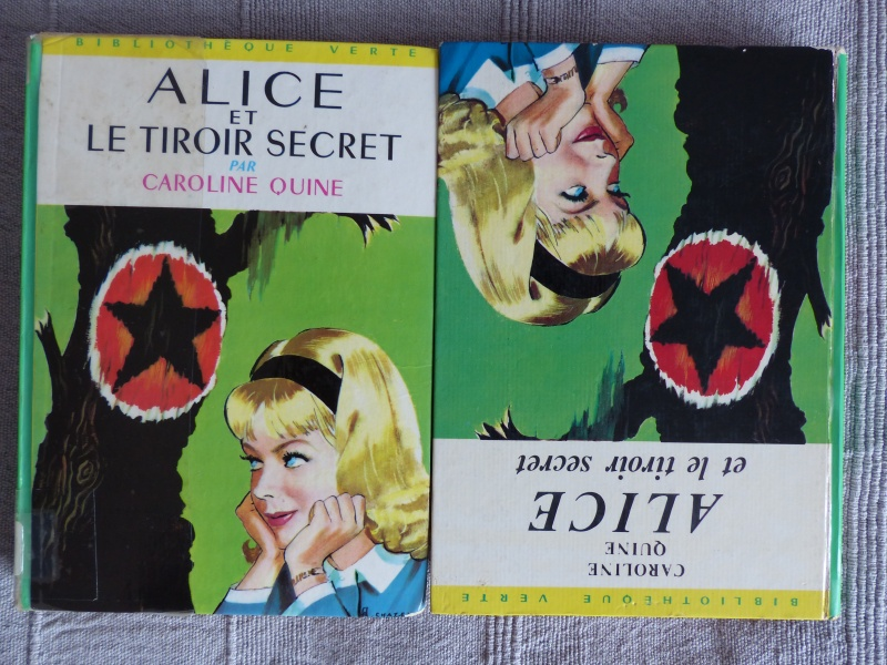 Recherches sur les anciennes éditions d'Alice (Titres 16 à 30)  P1170311