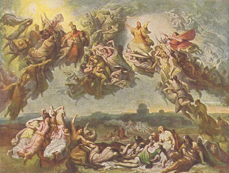 القصيد السيمفونى The Battle of the Huns  (معركة الهون) Hunnenschlacht  من اعمال فرانز ليست 797px-10