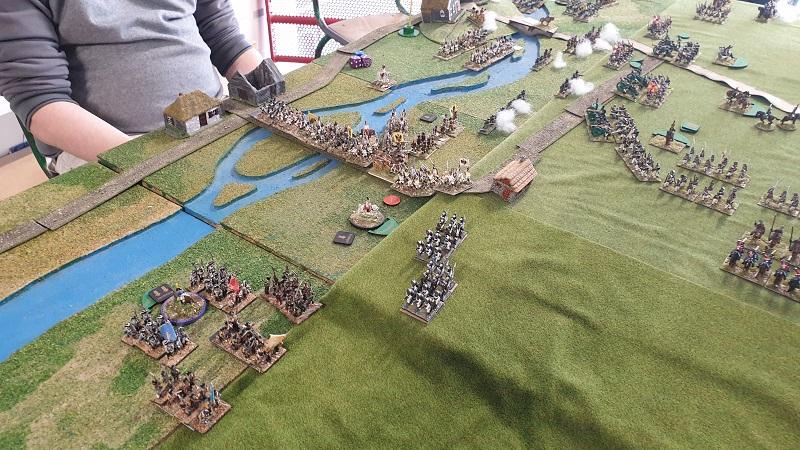 La bataille de Gorodeczna 1812. Austro saxons contre russes Bat110