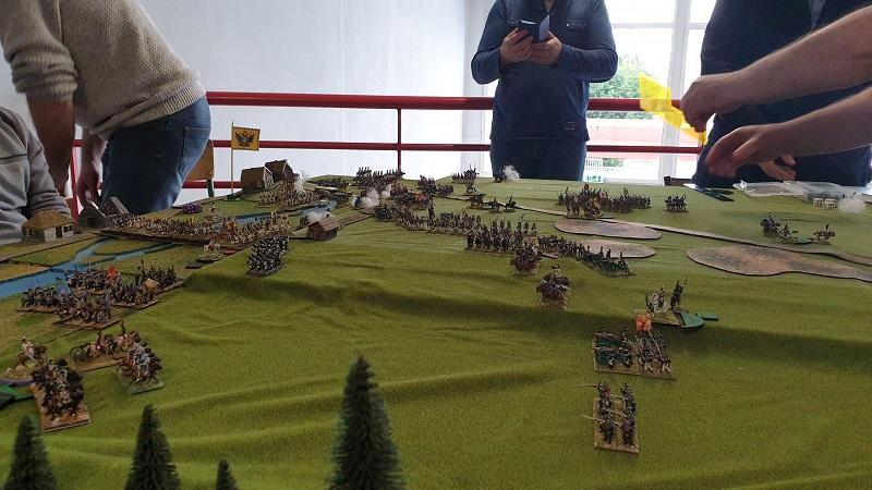 La bataille de Gorodeczna 1812. Austro saxons contre russes Bat210