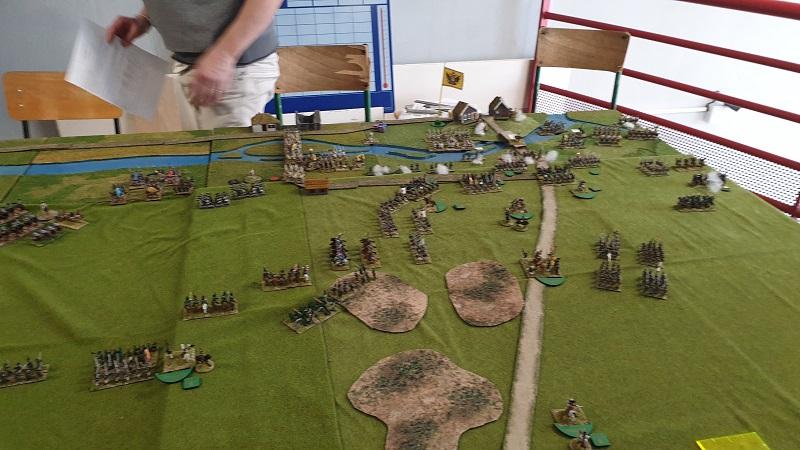 La bataille de Gorodeczna 1812. Austro saxons contre russes Bat310