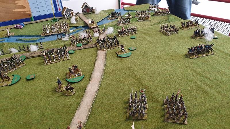 La bataille de Gorodeczna 1812. Austro saxons contre russes Bat410