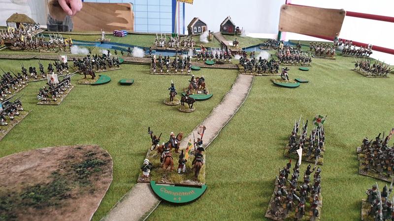 La bataille de Gorodeczna 1812. Austro saxons contre russes Bat510