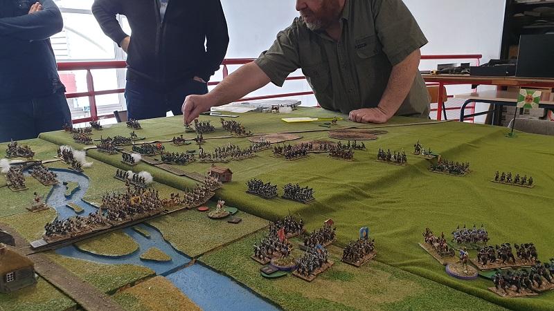 La bataille de Gorodeczna 1812. Austro saxons contre russes Bat610